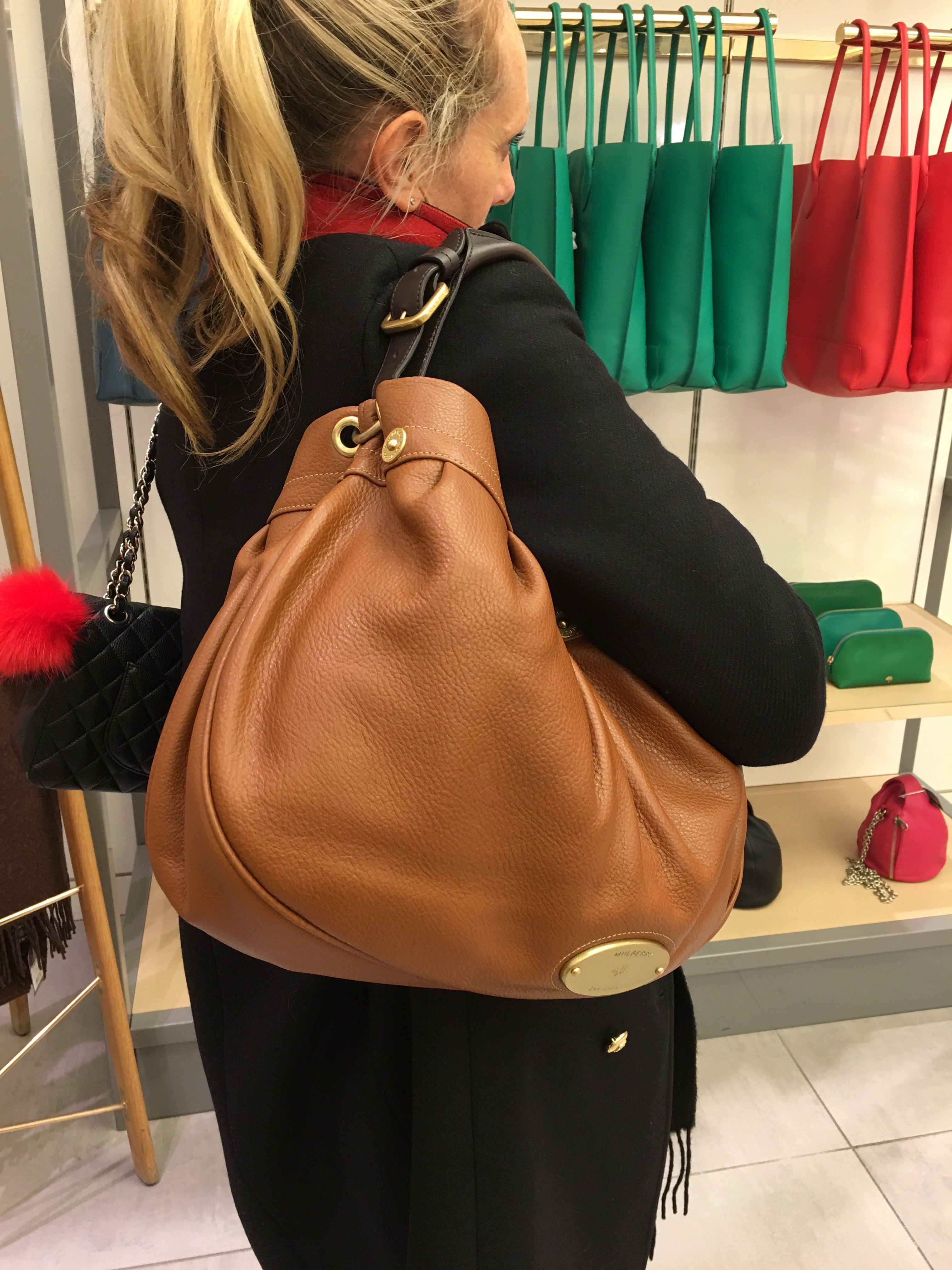 fa6a20d349a9 Mulberry Mitzy East West Hobo Bag