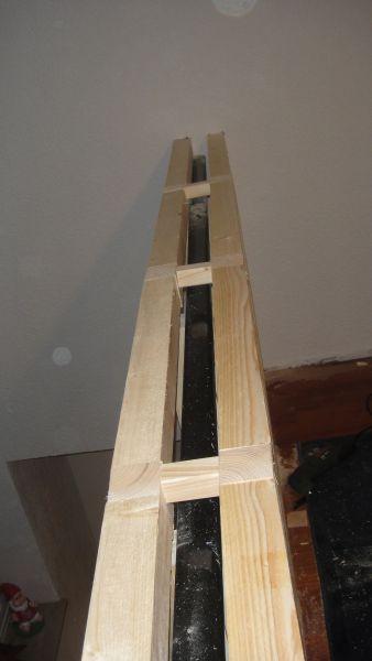 Altes Gelander Mit Fermacell Platten Verkleiden Bauanleitung Zum Selberbauen Home Improvement Railing Diy Tile