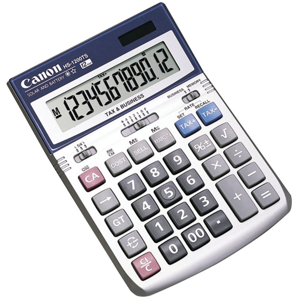 12 Digit Display Profit Margin Calculation Quick Easy Tax Calculation Square Root Sign Change Memory Key Business Calculators Desktop Calculator Calculator