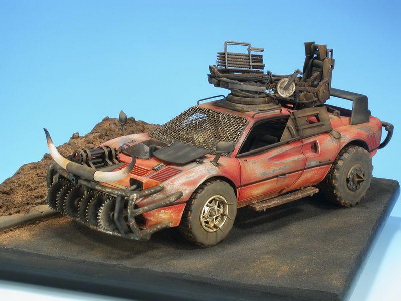 Ferrari Mad Max 1/24 Scale Model Mad max, Custom hot