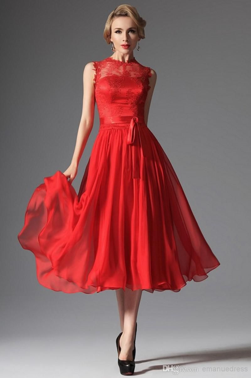Tea length prom dresses google search dresses pinterest tea