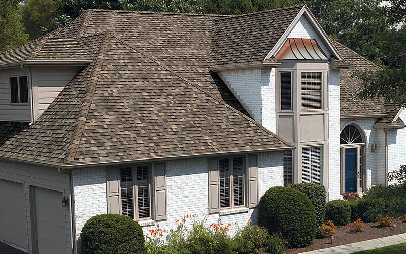 OCMaxDef | Brown roof houses, Architectural shingles roof ...