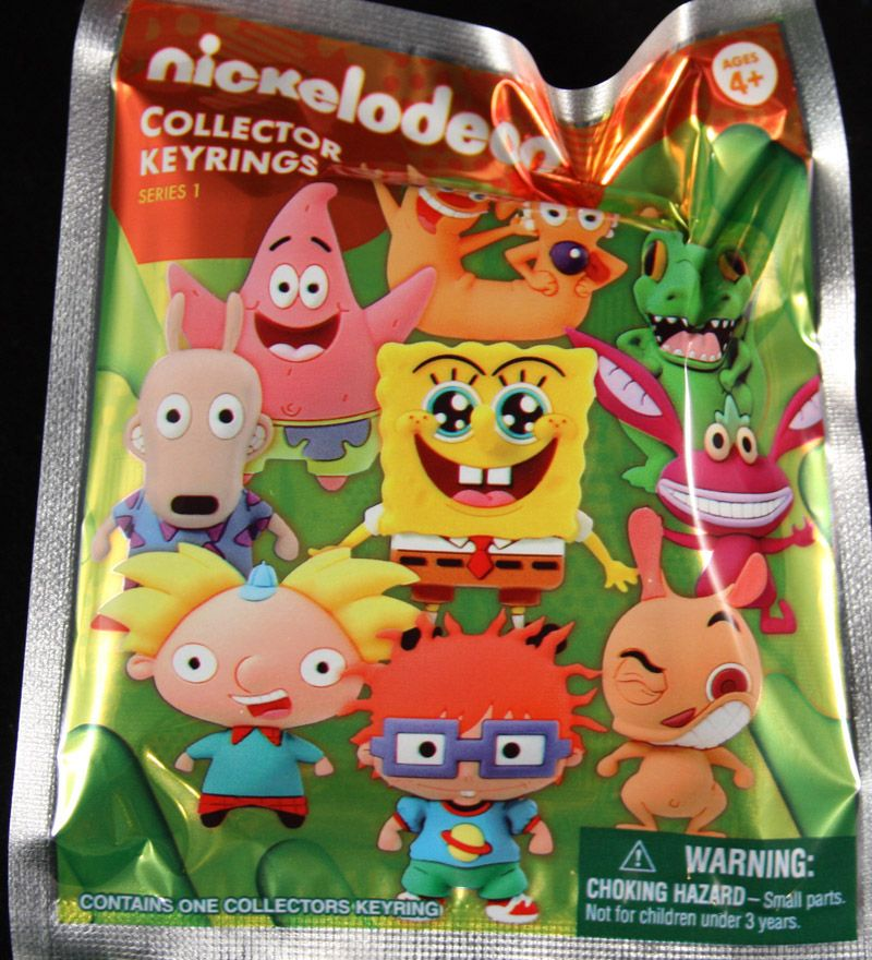 Nickelodeon 3 D Figural Series 1 Key Chain Hello