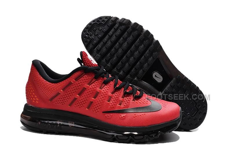 d309c82a9629 http   www.footseek.com red-and-black-mens-nike-air-max-2016-brand ...