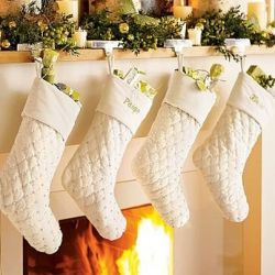 Stockings are a must have for any Christmas decor. Here are some ideas that might inspire you to make your own.