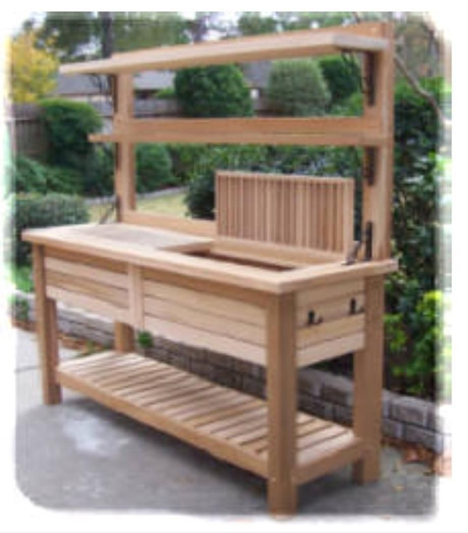Lakewood 3 Person Swing, 38 Charming Outdoor Garden Potting Bench Design Ideas Gardenpotting Potting Bench Plans Outdoor Potting Bench Potting Bench With Sink