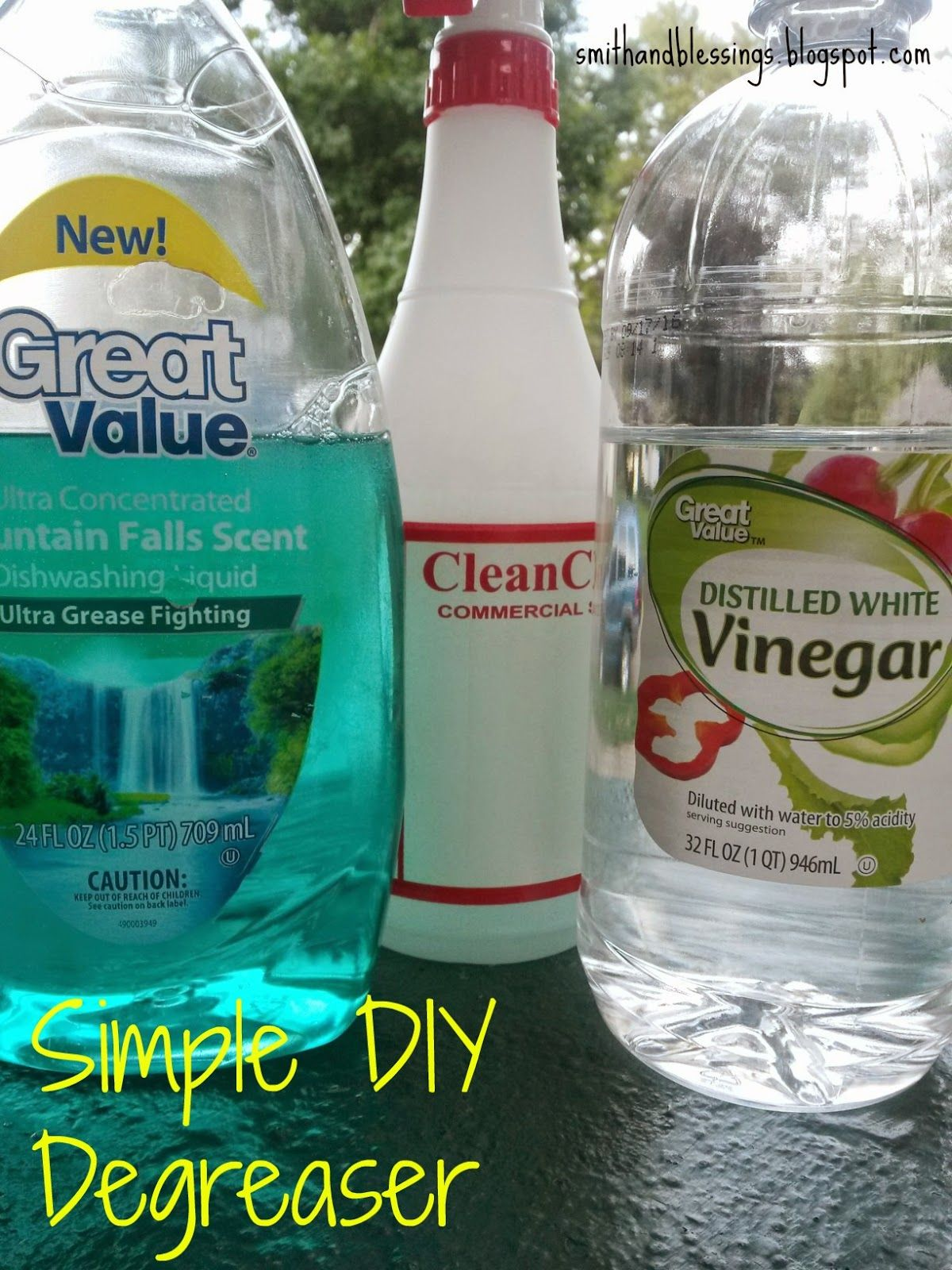 Smith and blessings messy monday simple diy degreaser ideas for