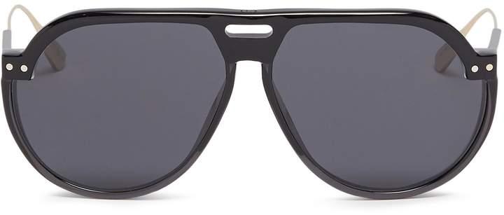 e9a1244d246 Christian Dior  Dior Club 3  optyl brow bar spoiler aviator sunglasses