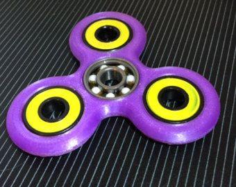 Batman Hand Spinner Tri Fidget Toys 3D Figit Figet EDC 360° Spin Anti Stress Toy