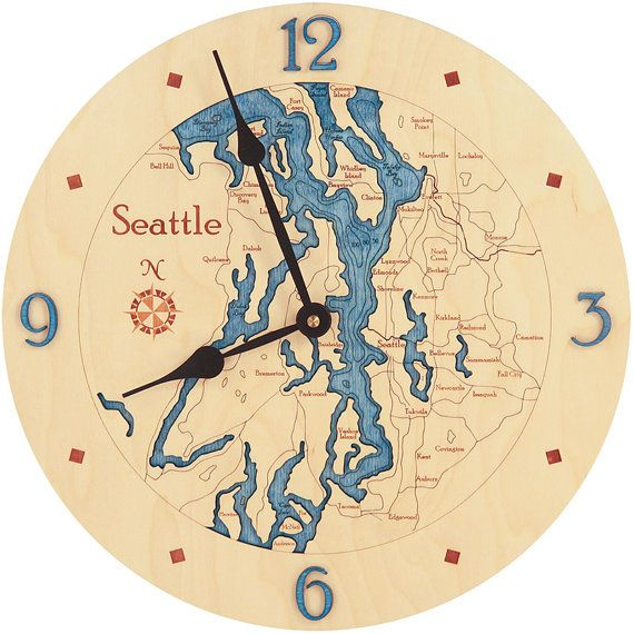 bd28a73b3 Clock wall | Clock Wall | Pinterest | Clock, Washington and Seattle