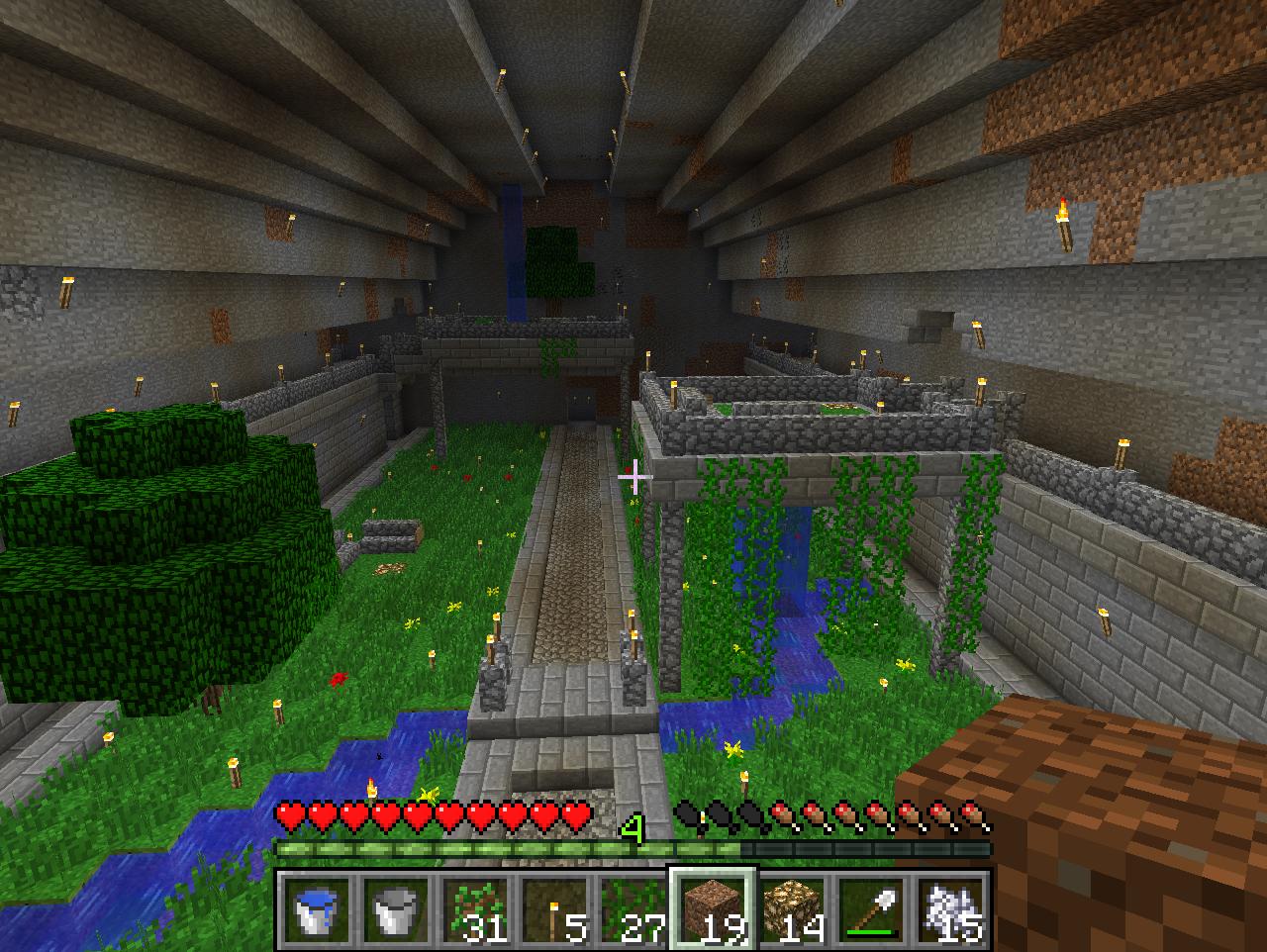Garden Ideas Minecraft underground garden | minecraft | pinterest | gardens, minecraft