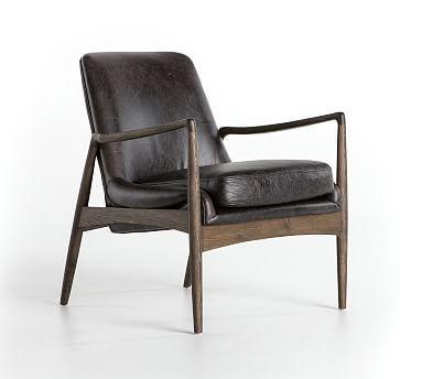 Fairview Leather Armchair Armchair Retro Armchair