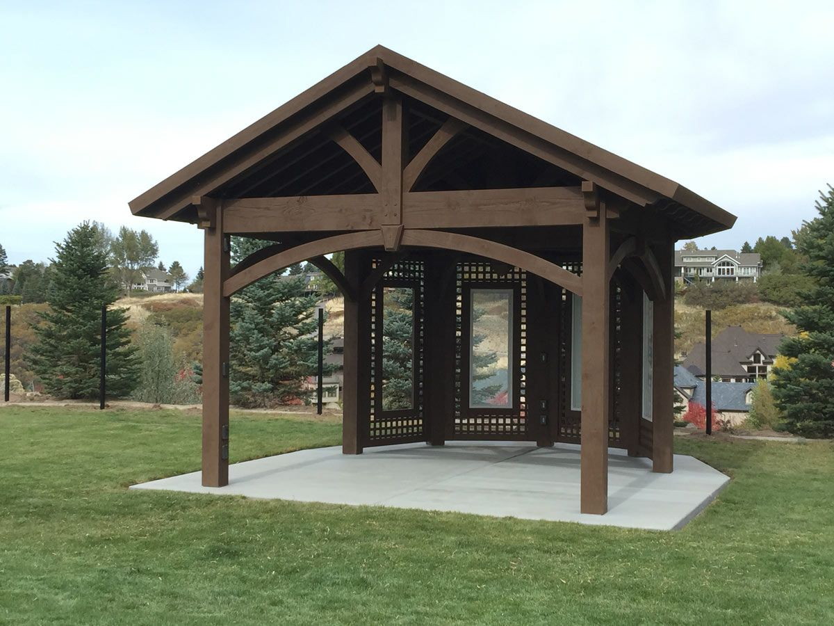 Home Show Inspiration Install Custom Gazebo Pavilion Plan