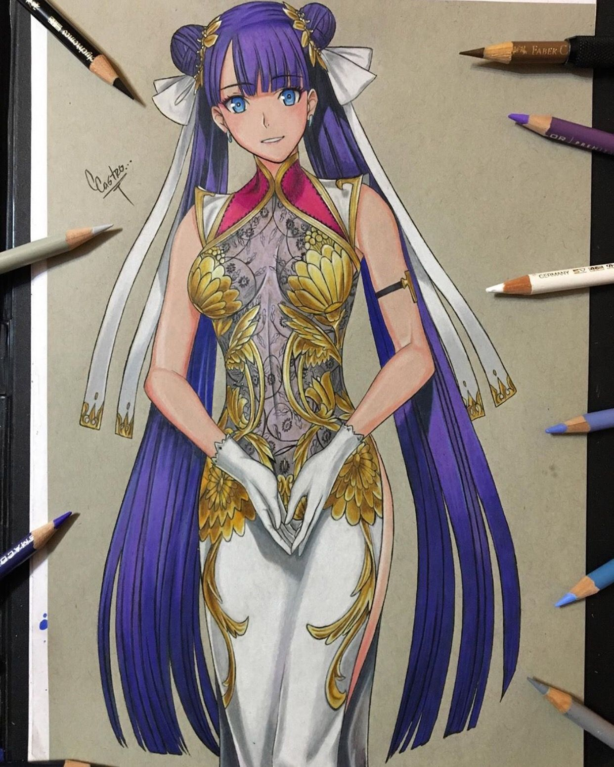 Saintmartha By Sketchcris89 Visit Our Website For More Anime And Animeart Fategrandorder Don T Forg Anime Artwork Anime Drawings Anime Art