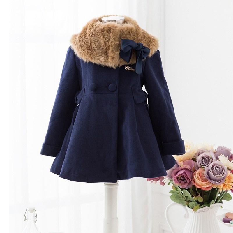 e61a73fcd Ideas para hacer abrigos de niñas   ropa infantil   Abrigos para ...