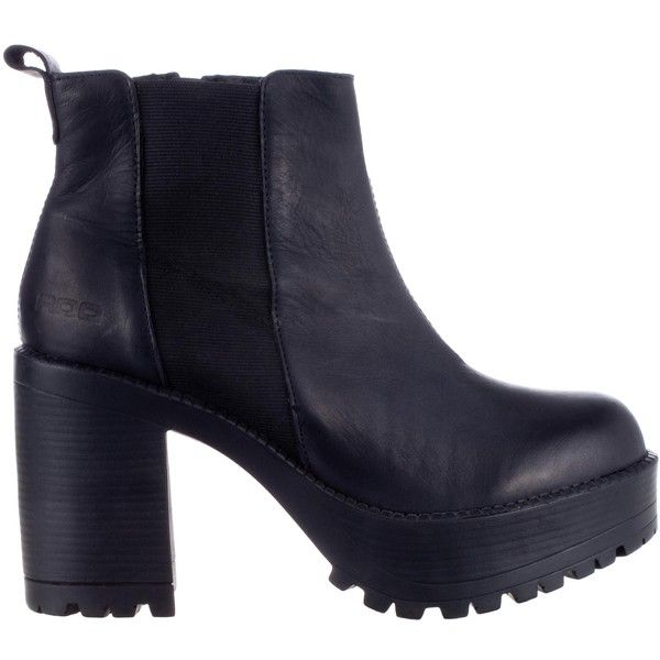 ROC Pascal ($125) ❤ liked on Polyvore featuring shoes, boots, ankle booties  · Black Leather ...