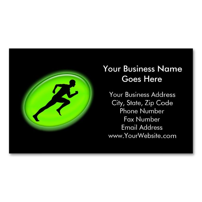 Green Glow Fitness And Personal Training Logo Business Card Zazzle Com Personal Training Logo Business Card Logo Personal Trainer Business Card
