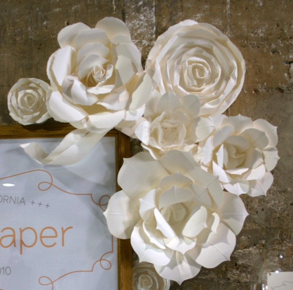 Huge Paper Flower Display Package As Seen On The Martha Stewart