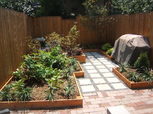 Awesome Garden Landscaping Ideas For Small Gardens: Small Urban Backyard Total Renovation
