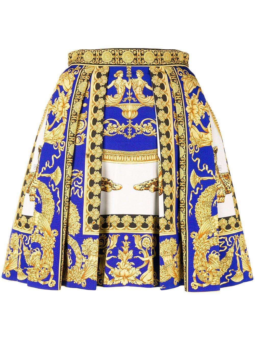 208bf22d0b Versace Signature print skirt | Costumes/ Fashion in 2019 | Fashion ...