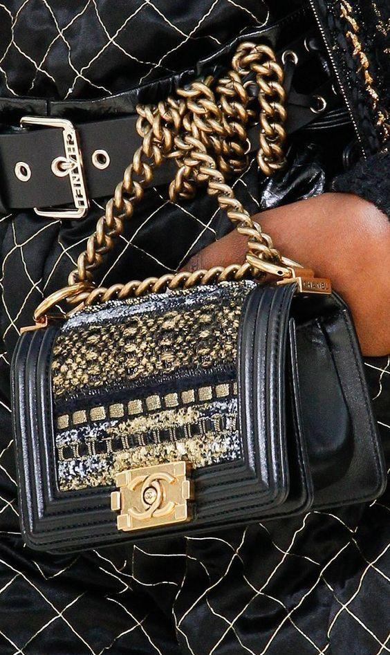 Chanel Runway Details