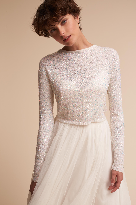 Ananda Releve Sweater | BHLDN Bridal #tznius #modest | Modest ...