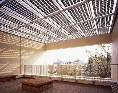 Building Construction Photovoltaic Solar Panels For Home Solar Roof Solar Pergola