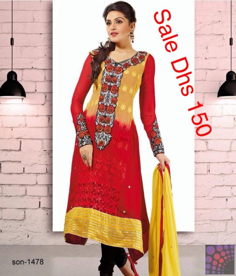 SALE INDIAN DRESS DHS. 150 ONLY