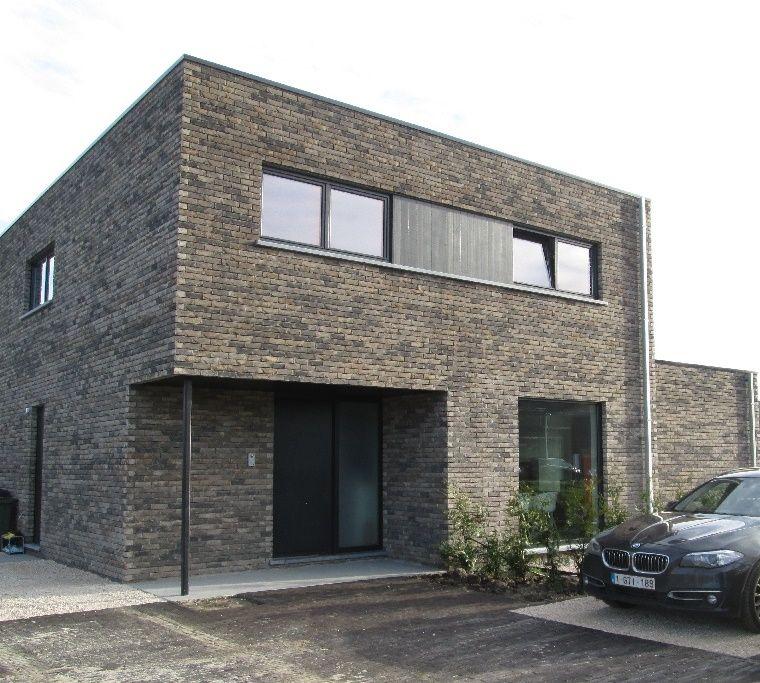 10 geboden voor een bio-ecologische woning • nieuwbouw • modern • plat dak • Foto: www.sibomat.be