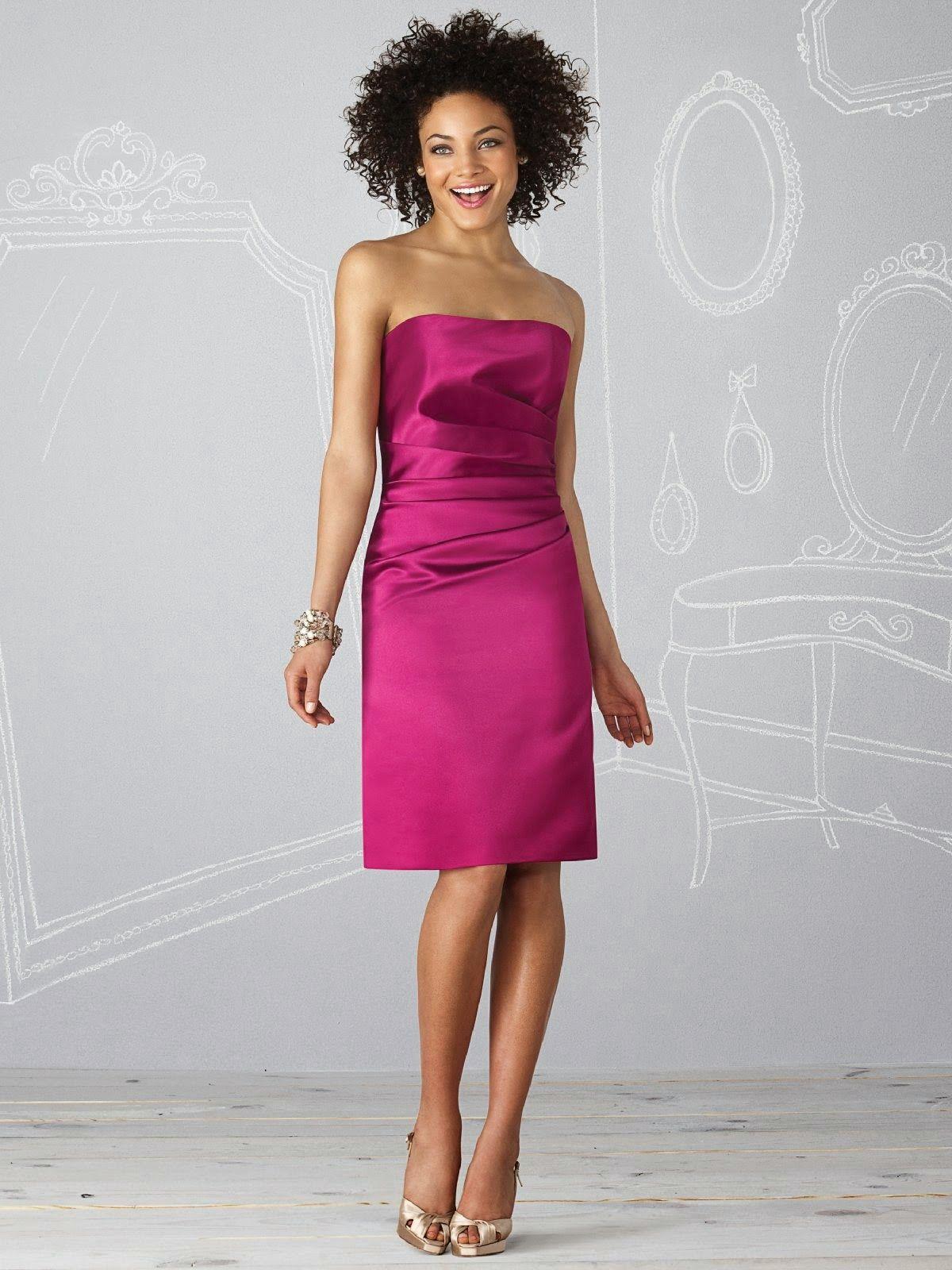 Diseños de vestidos de damas de honor | my style | Pinterest | Aunt ...
