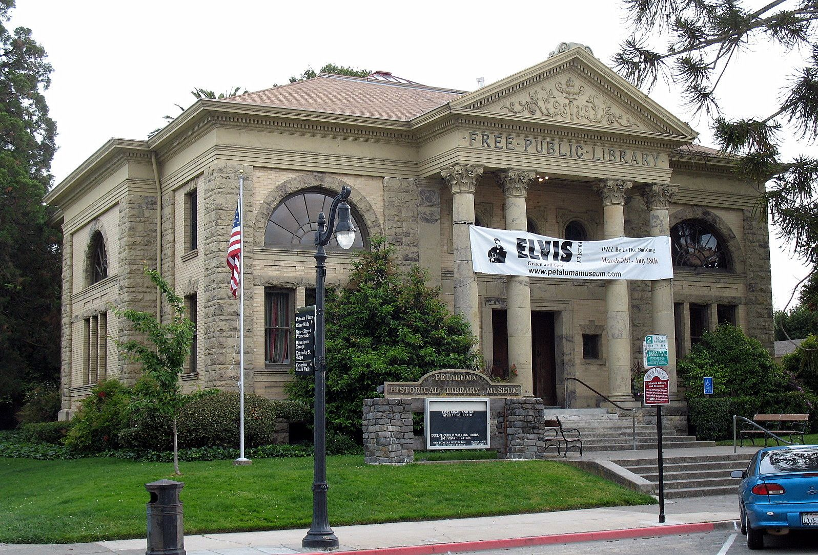 Old Carnegie Library Now Home To The Petaluma Historical Museum National Register Of Historic Places Sonoma County Sonoma County California