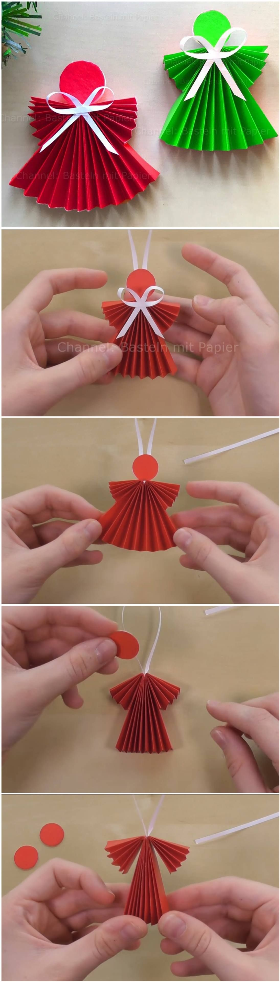 Paper Angels Diy Tutorial Neesly With Images