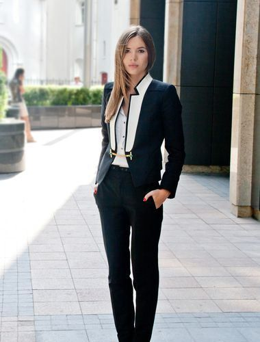 Androgynous Tuxedo Cropped | Marry Her, Merry Me | Pinterest ...
