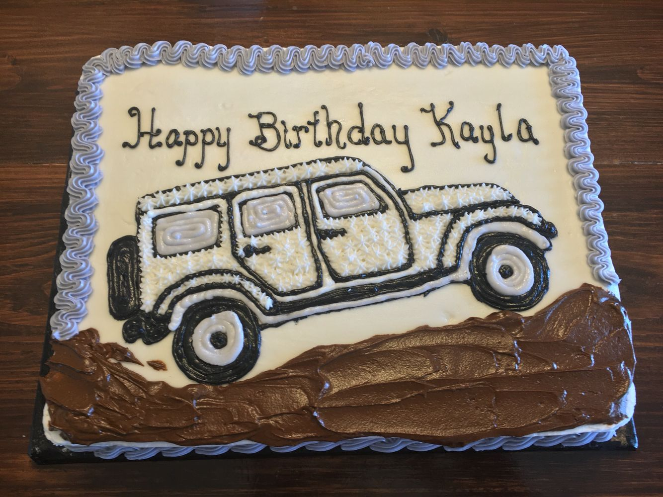 Jeep cake Cakes by Me Pinterest Jeep cake Cake and Birthday