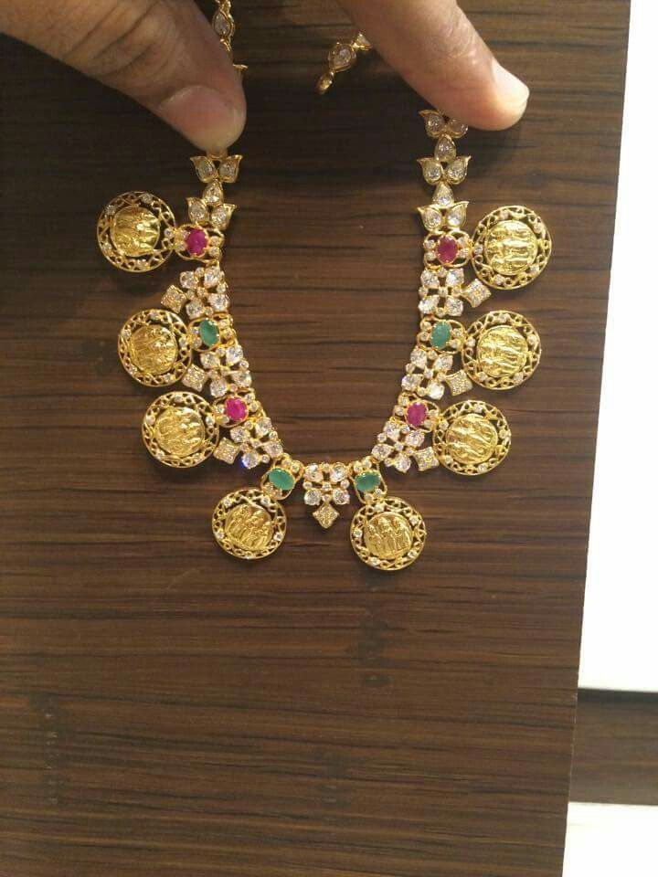 Ram Darbar Kasumala Necklace Gold Jewellery Design