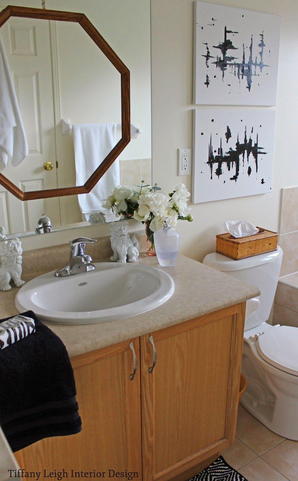 Tiffany Leigh Interior Design Update A Basic Beige Builder's