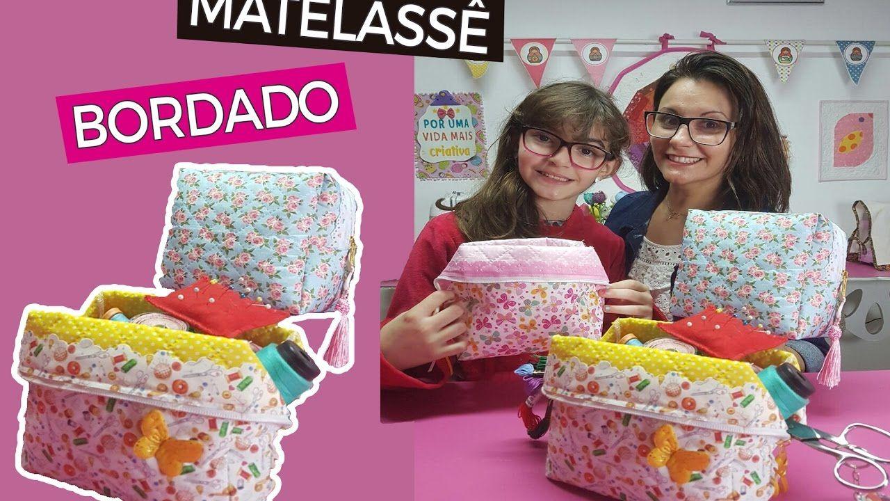DICAS DE ARTESANATO - Necessaire box