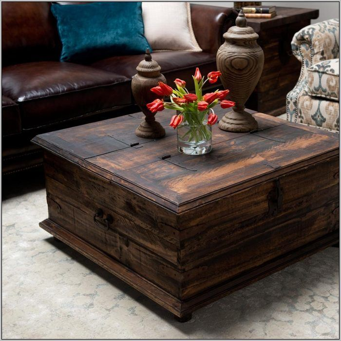 Unique Diy Coffee Table Ideas That Offer Ceative Style And Storage Diy Coffeetable Withstor Chest Coffee Table Rustic Coffee Table Sets Coffee Table Square