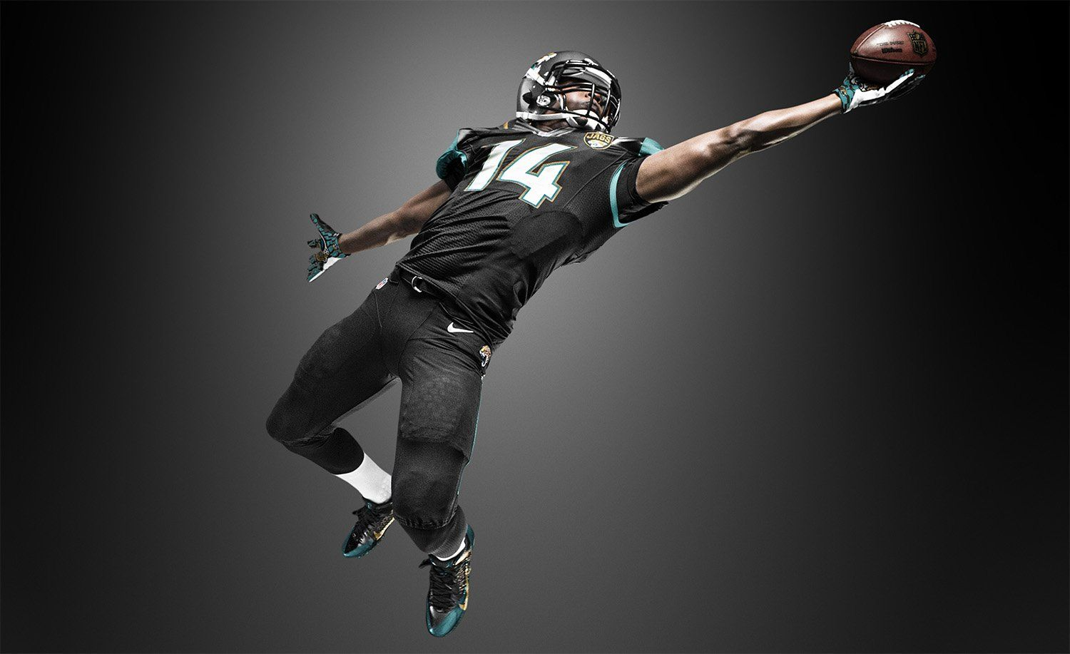 Black American Football Wallpaper Hd