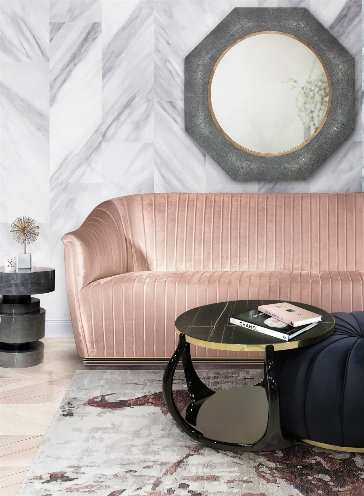Love This Pink Velvet Couch By Koket Yes Please Interior Design Living Room Decor Gray Furniture Design