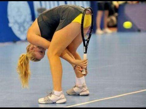 Tennis S Funniest Entertainment Sports Fails Tennis Caroline Wozniacki