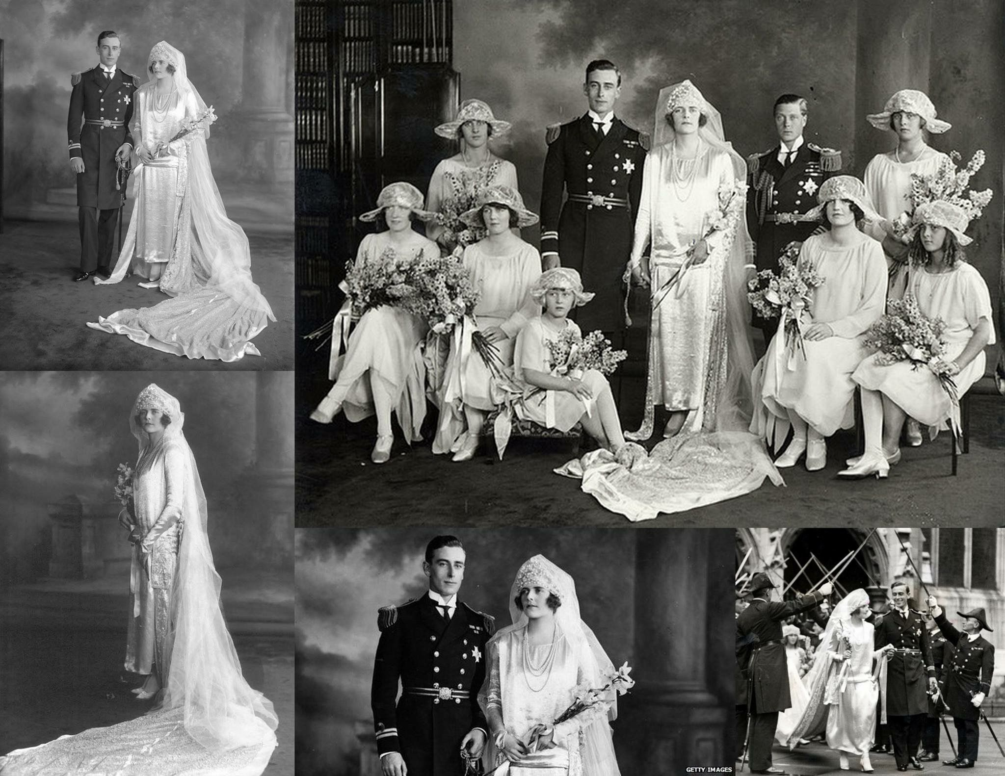 1922 : wedding of Lord Louis Mountbatten to Edwina Ashley ...