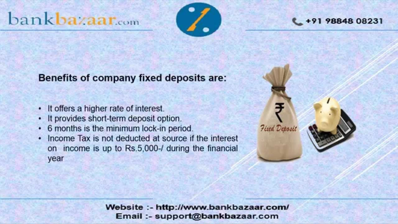 Consider Points Before Investing In Company Fixed Deposit To Compare Interest Rates On Company Fixed Deposit Visit Http Investing Investment Advisor Deposit