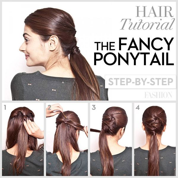 16 Hair Tutorials You Must Have Pretty Designs Fancy Ponytail Prom Hair Tutorial Hair Tutorial