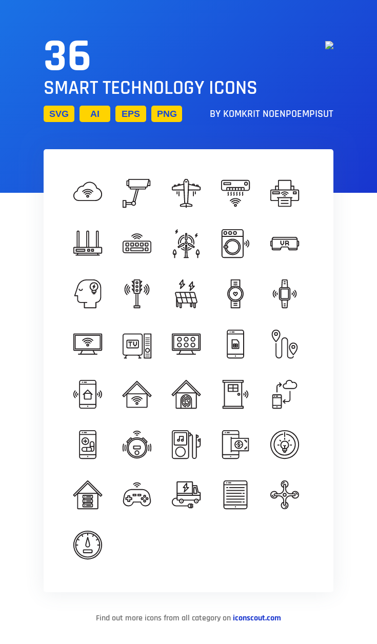 Download Smart Technology Icon Pack Available In Svg Png Eps Ai Icon Fonts Technology Icon Smart Technologies Line Icon