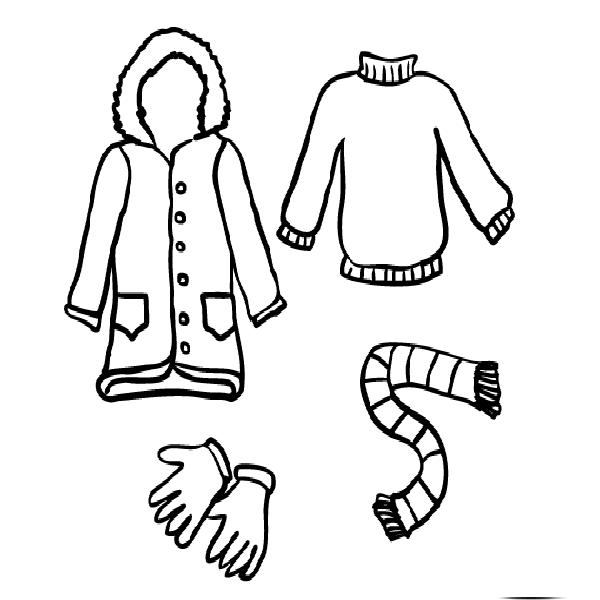 78d1d8a93ada5e7c46299f1fb7b6bfcb » Winter Clothes Coloring Pages