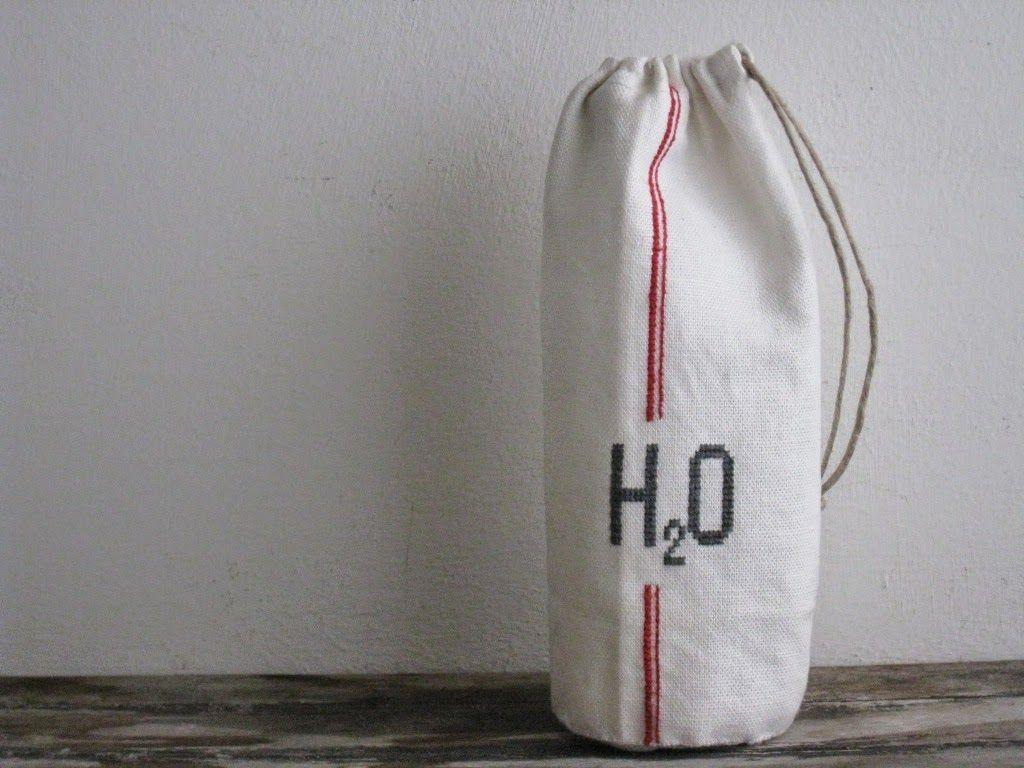 super idée pochon pour bouteille d'eau | projet imprimer