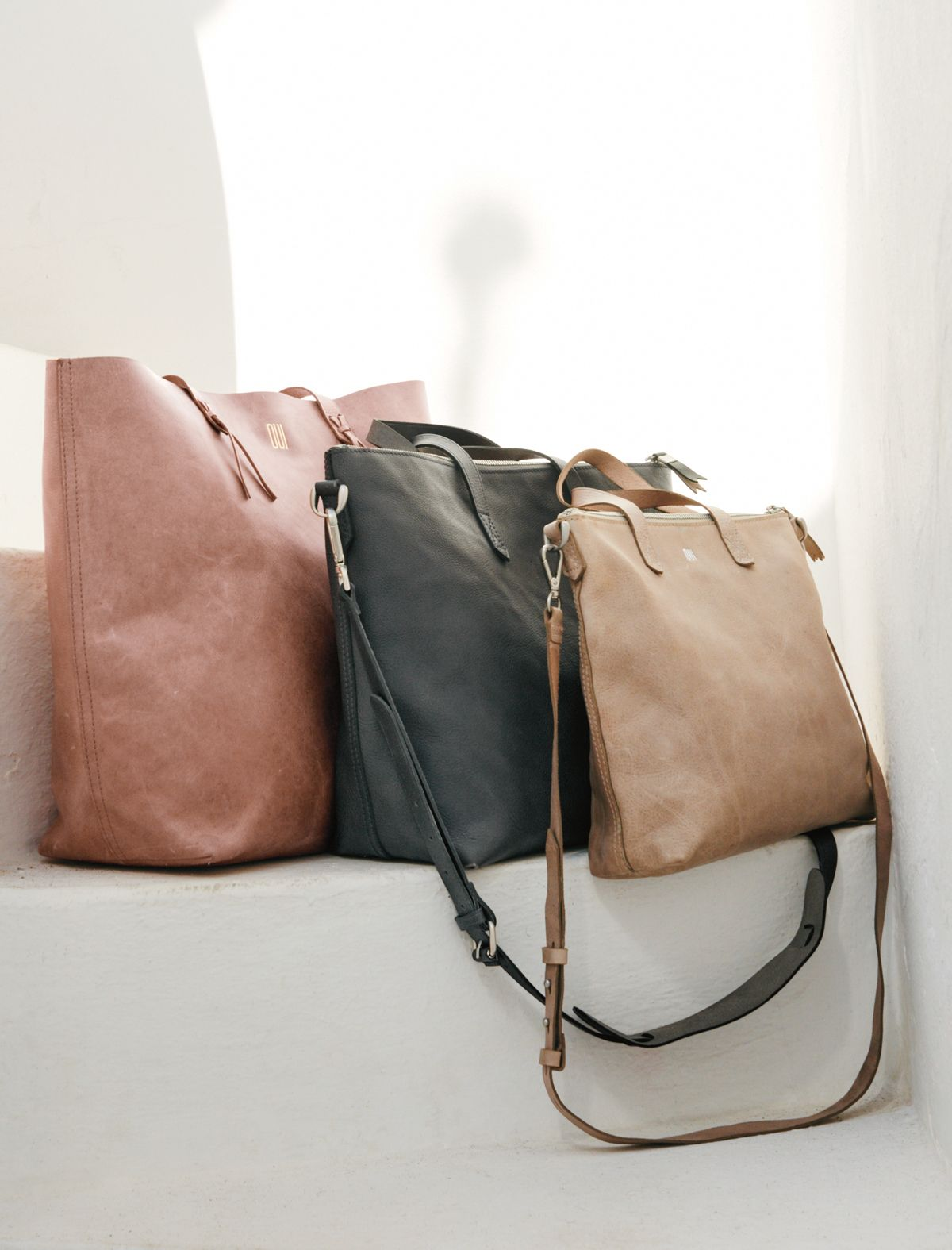 madewell mini transport crossbody tote, zip transport tote + transport tote. #totewell