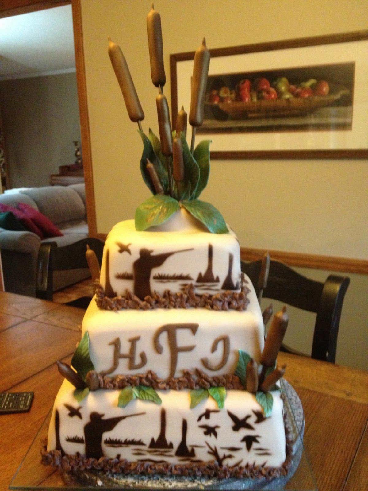 Duck Hunting Cake Decorations : Duck Hunting Groom s Cake What kind of cake would an ...