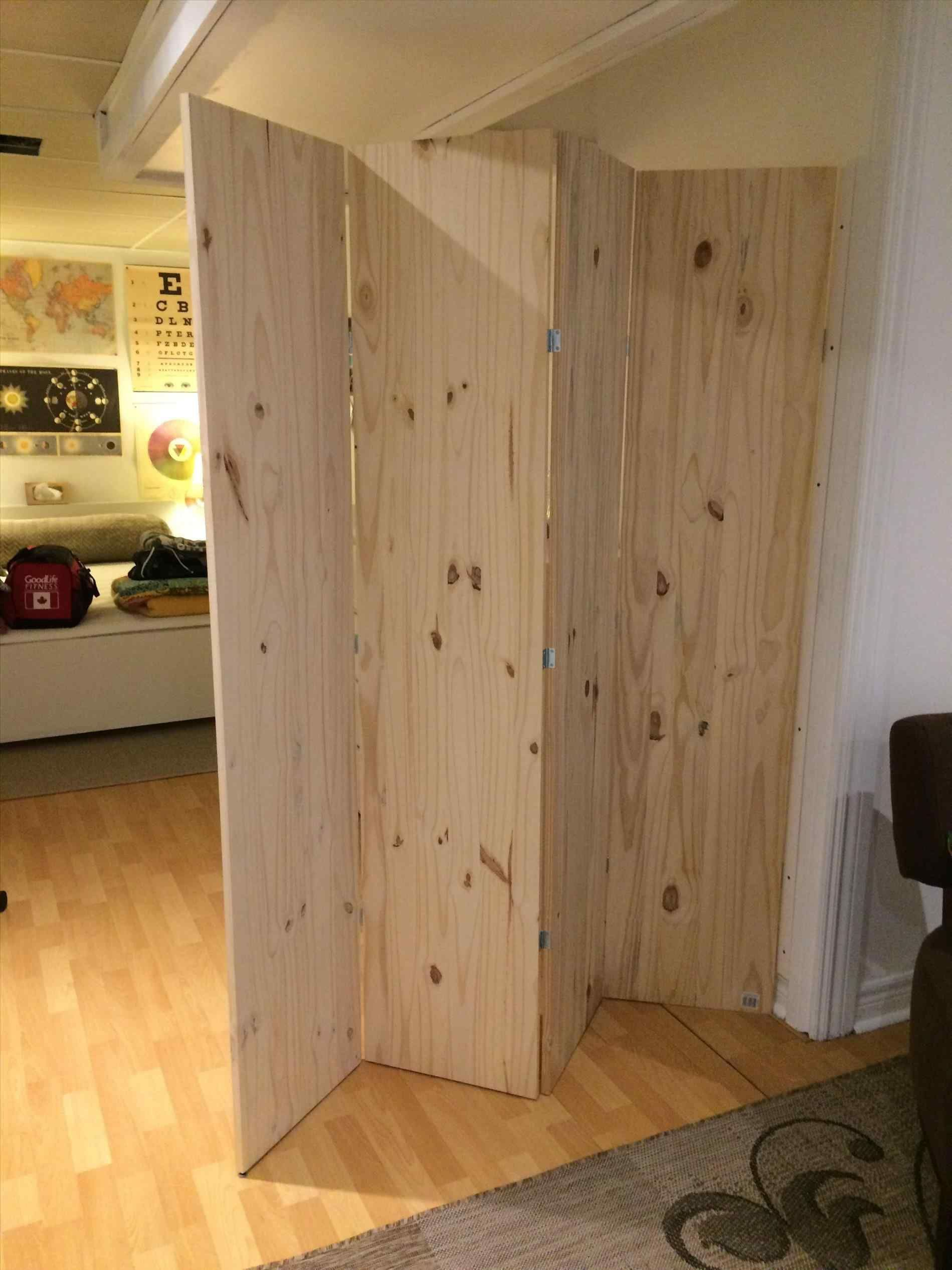 Build a freestanding wall on wheels room dividers folding temporary